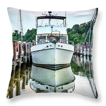 Classic Cruiser Throw Pillow