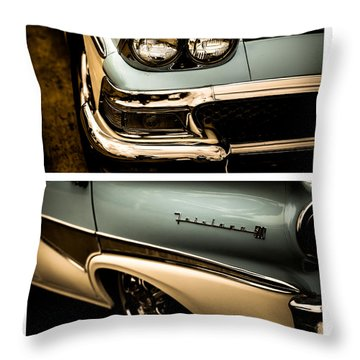 Throw Pillow featuring the photograph Classic Duo 1 by Ryan Weddle