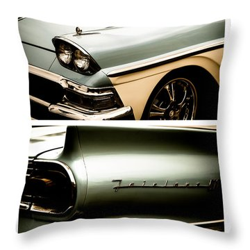 Throw Pillow featuring the photograph Classic Duo 2 by Ryan Weddle
