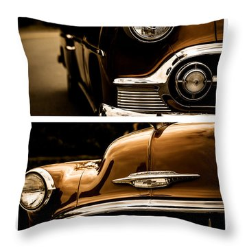 Throw Pillow featuring the photograph Classic Duo 3 by Ryan Weddle
