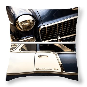 Throw Pillow featuring the photograph Classic Duo 5 by Ryan Weddle