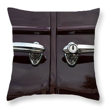 Classic Handle Throw Pillow