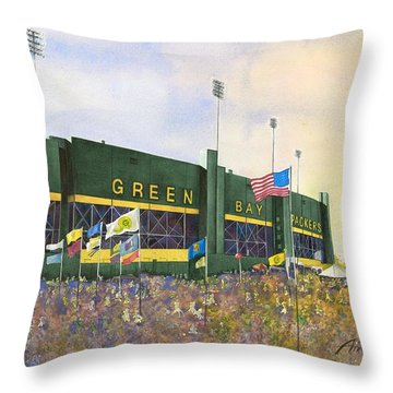 Classic Lambeau Throw Pillow