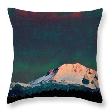 Classic Lassen Mini I Throw Pillow