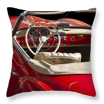 Classic Mercedes Benz 190 Sl 1960 Throw Pillow by Heiko Koehrer-Wagner