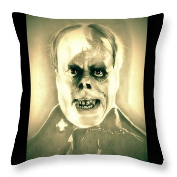 Classic Phantom Of The Opera Throw Pillow