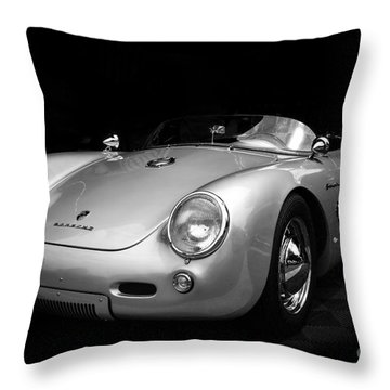 Classic Porsche Throw Pillow by Perry Webster