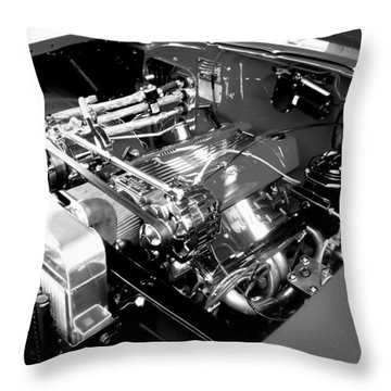 Classic Power Throw Pillow