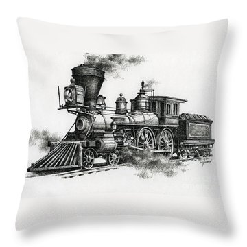 Classic Steam Throw Pillow