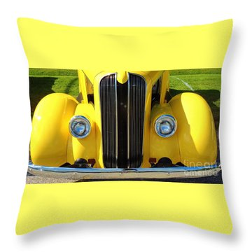 My Ride's Here Throw Pillow