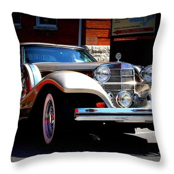 Throw Pillow featuring the photograph Classic Streets by Al Fritz