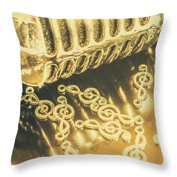 Classical Golden Oldies Throw Pillow
