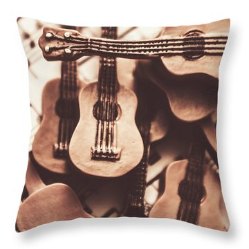 Classical Music Recording Throw Pillow