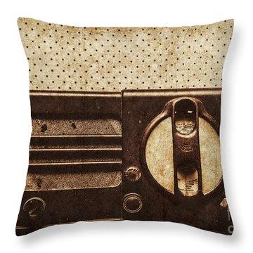 Classical Sound Throw Pillow