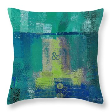 Throw Pillow featuring the digital art Classico - S03c04 by Variance Collections