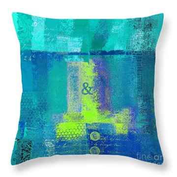Throw Pillow featuring the digital art Classico - S03c26 by Variance Collections