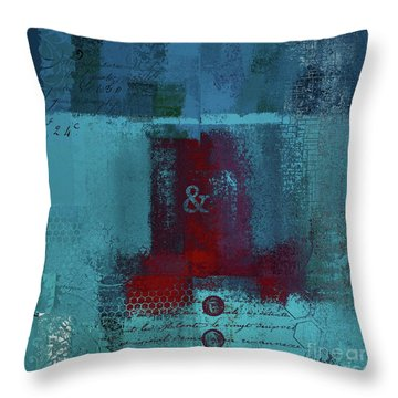 Throw Pillow featuring the digital art Classico - S03b by Variance Collections