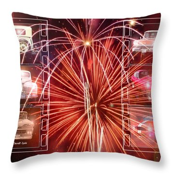 Classics Ablaze Throw Pillow by David and Lynn Keller