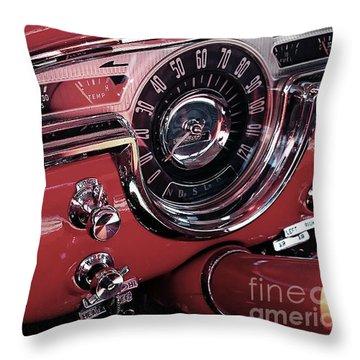 Classics Dashboard Throw Pillow