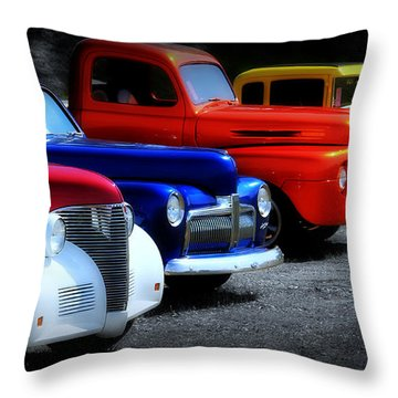 Classics Throw Pillow by Perry Webster