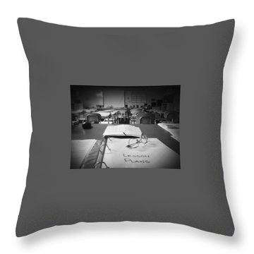 Classroom Throw Pillow
