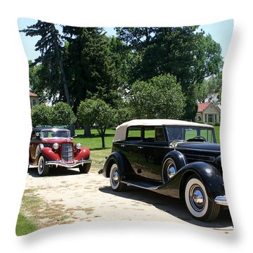 Classy Classics Throw Pillow by Jack Pumphrey