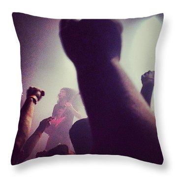 Coheed And Cambria  Throw Pillow by Kate Arsenault