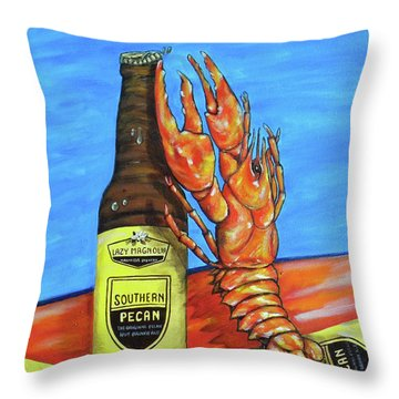 Claw Opener Throw Pillow
