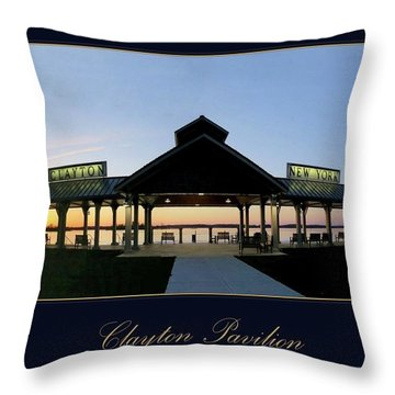 Clayton Pavilion Throw Pillow