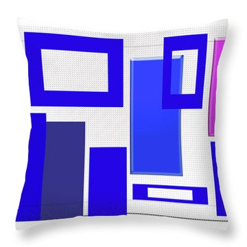 Clean Lines Throw Pillow