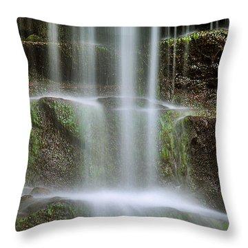 Waterfalls Throw Pillows