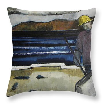 Cleanup Throw Pillow