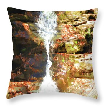 Clear And Clean Throw Pillow by Lanjee Chee