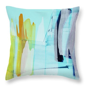 Clear As Day Throw Pillow
