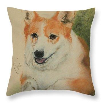 Clear Run Throw Pillow by Cori Solomon