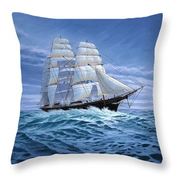 Clear Skies Ahead Throw Pillow