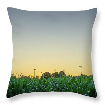 Clear Skies Sunset Throw Pillow