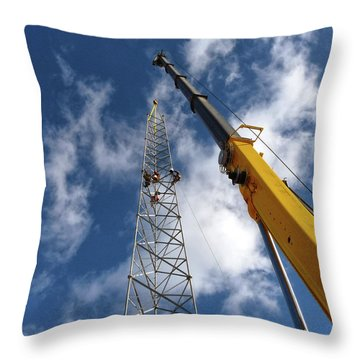 Throw Pillow featuring the photograph Clear Spring by Robert Geary