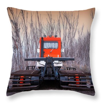 Clear The Way Throw Pillow