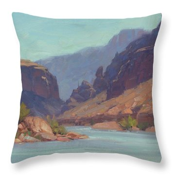 Clearwater Throw Pillow