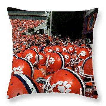 Clemson Throw Pillows