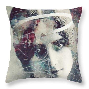 Cleo De Merode Throw Pillow