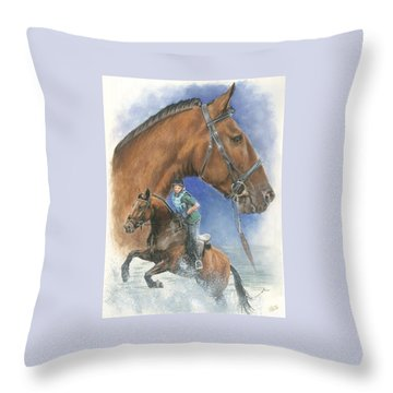 Cleveland Bay Throw Pillow by Barbara Keith