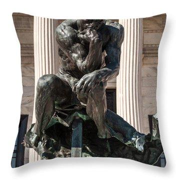Cleveland Museum Of Art Throw Pillow