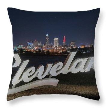 Cleveland Pride Throw Pillow