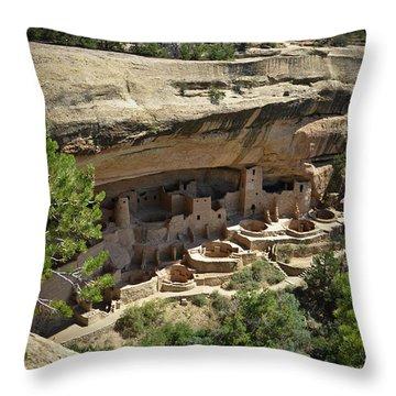 Cliff Palace Throw Pillow