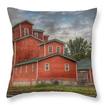 2007 - Aside The Tracks In Clifford Throw Pillow
