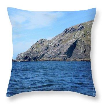 Cliffs Of Ireland  Throw Pillow
