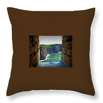 Cliffs Personalized Throw Pillow