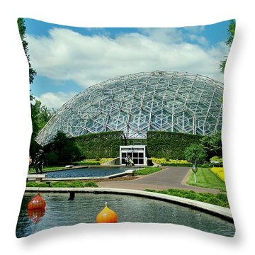 Climatron Dome Throw Pillow